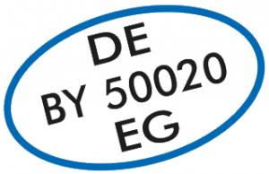 DEBY50020EG Zertifikat für Metzger Max Gruber aus Großweingarten bei Spalt in Bayern